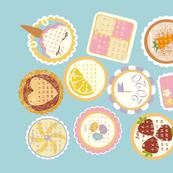Cake Tea Towel Calendar 2020