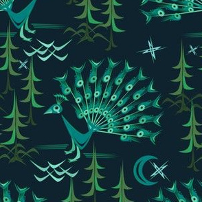 Peacock Forest