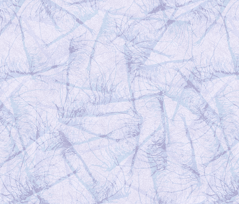 roots-ink-lt-blue_lavender fabric by wren_leyland on Spoonflower - custom fabric