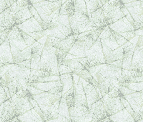 roots-ink-sage-mint fabric by wren_leyland on Spoonflower - custom fabric