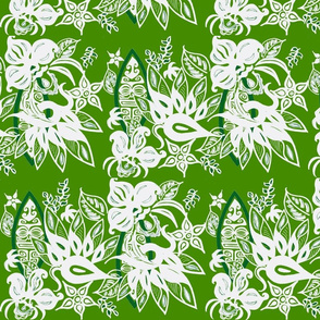 Sophista-tiki airways in  summer green