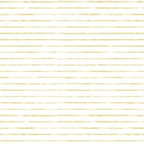 Small Mustard / Gold Watercolor Stripe