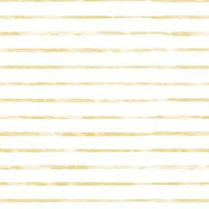 Gold / Mustard / Yellow Watercolor Stripe