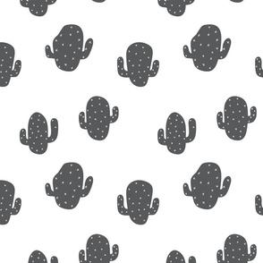 Stumpy Cactus, Grey