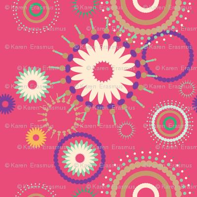 Retro pinks
