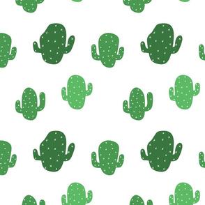 Stumpy Cactus, Green