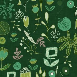 Emerald Forest Dark Green