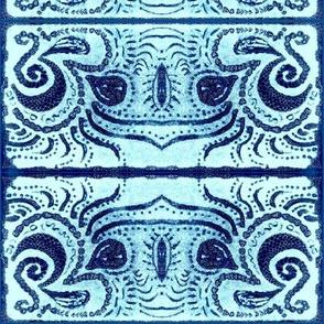 Print/Etch-Teal