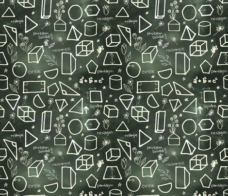 Problem Solved! fabric by irishvikingdesigns on Spoonflower - custom fabric