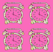 CLOCKS PINK