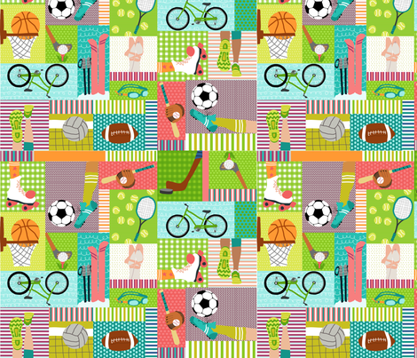 You GO girl! fabric by lauriewisbrun on Spoonflower - custom fabric