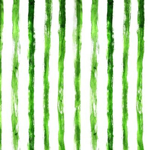 Grungy green vertical paint stripes