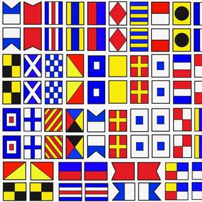 tiny Nautical flags