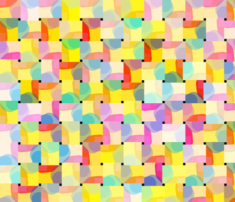 SUMMER GEOMETRIC fabric by soobloo on Spoonflower - custom fabric