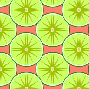 Lime Light-coral