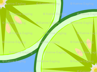 Lime Light-blue