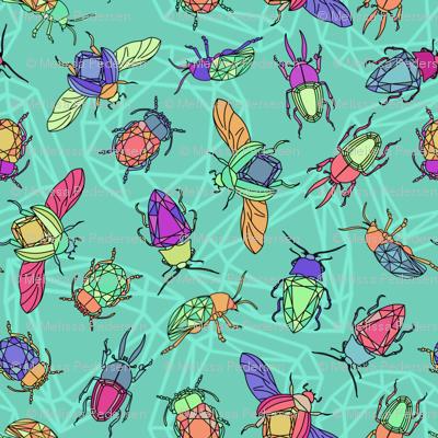 Turquiose Gemstone Beetles