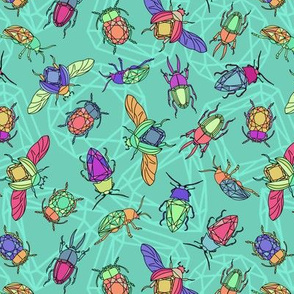 Turquiose Gemstone Beetles