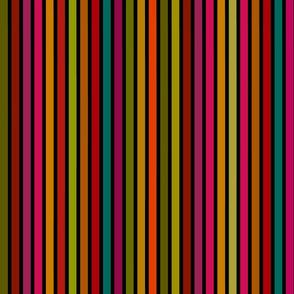 Stripes to match Hardcore Feminist on black