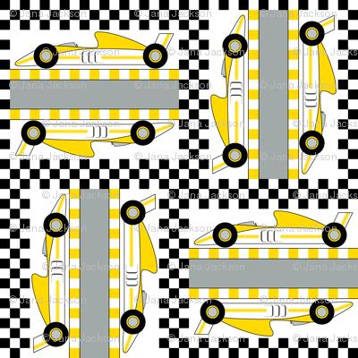 Formula 1 (yellow)