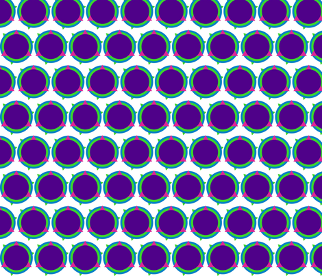 circle fabric by miss_good_stitch on Spoonflower - custom fabric