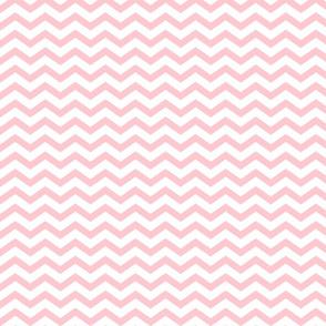 Fat Chevron - Baby Pink