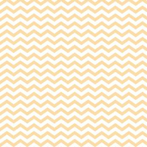 Fat Chevron - Creamy Yellow
