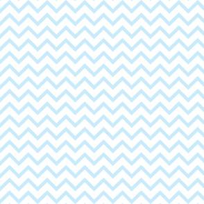 Tall Chevron - Baby Blue