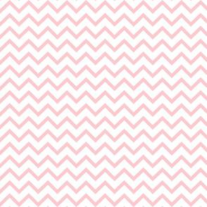 Tall Chevron - Baby Pink