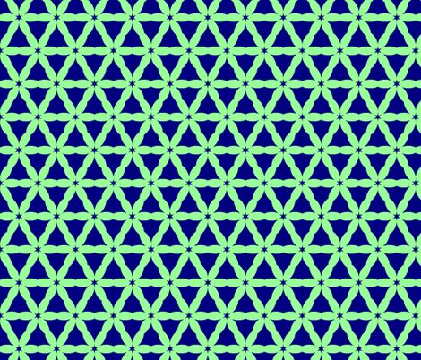 MintNavy Network fabric by mamastone on Spoonflower - custom fabric
