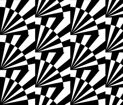 circle triangle 1 fabric by elaphus_house on Spoonflower - custom fabric
