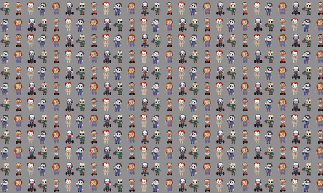 Serial Killers fabric by mariospeedwagon on Spoonflower - custom fabric