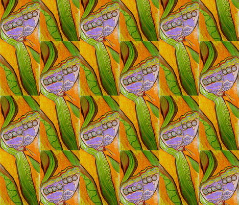 Butterflylands19 fabric by lauriem9@yahoo_com on Spoonflower - custom fabric
