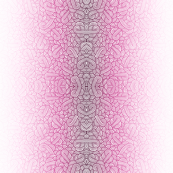 Gradient pink and white swirls doodles