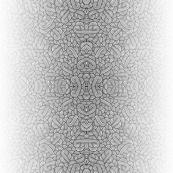 Gradient black and white swirls doodles