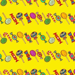 Sweet Princess stripes (yellow)