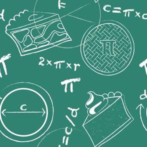 Math of Pi(e) on green