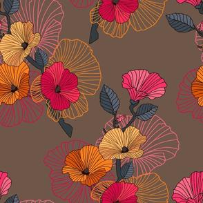 abstract sakura branch