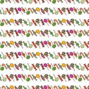 Sweet Princess stripes (white)  150