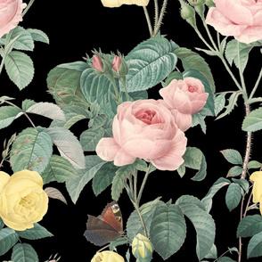 Belles Fleurs ~ Jolie Rayure ~  Black