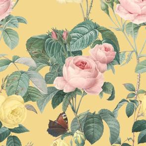 Belles Fleurs ~ Jolie Rayure ~  Adolphous _ Peacoquette Designs _ Copyright 2018