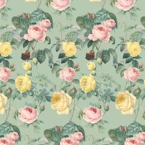 Belles Fleurs ~ Jolie Rayure ~  Silverberry