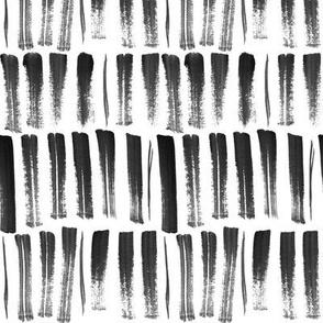 black and white strokes
