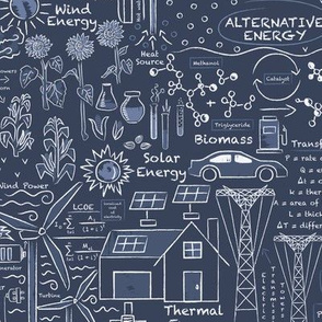 Alternative Energy Blueprints