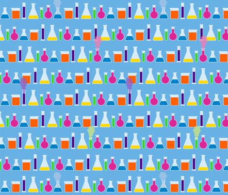 Chem Lab fabric by gentlysmilingjaws on Spoonflower - custom fabric