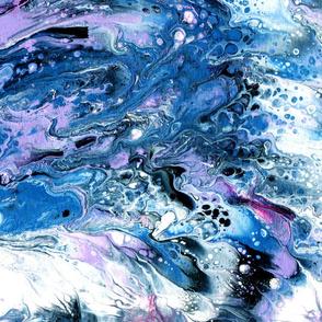 sea fantasy fluid art