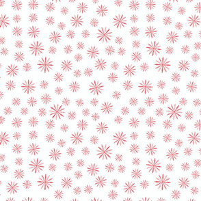 Pink and red circle pattern