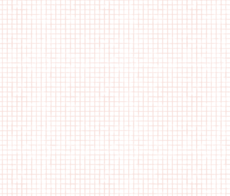 Small Scale Soft Pink Watercolor Grid fabric by sweeterthanhoney on Spoonflower - custom fabric