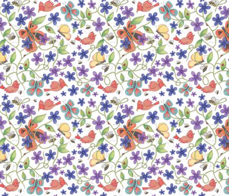 TERI  fabric by margiecampbellsamuels on Spoonflower - custom fabric