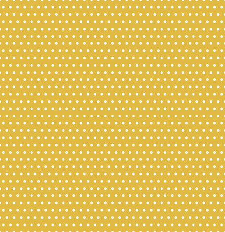 Small White Polka Dots On Mustard fabric by sweeterthanhoney on Spoonflower - custom fabric